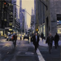 twilight on madison by ben aronson