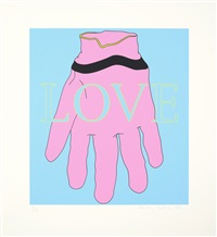 love/glove by michael craig-martin