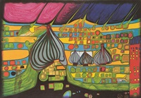 yellow last will by friedensreich hundertwasser