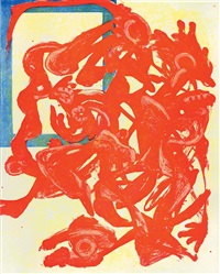 nightpack (red, yellow and blue) by charline von heyl
