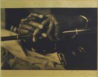 miles davis (hands) by michel comte