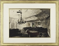 mother archie's church by andrew wyeth