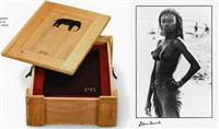 peter beard collector's edition (with print) - fayal tall by peter beard