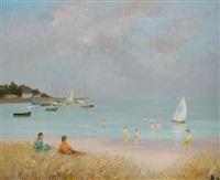 plage de port navalo by marcel dyf