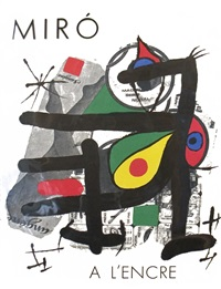 lot 325: a l'encre by joan miró