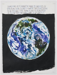 no title (sometimes if it) by raymond pettibon