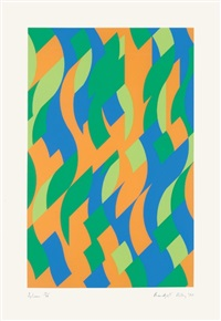 sylvan by bridget riley