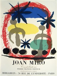 lot 322: constellations by joan miró