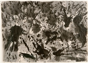 untitled sumi by mark tobey