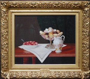 tabletop still life by george cope