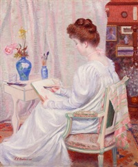 artistic reverie by theodore earl butler
