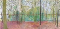 woldgate woods, 7 & 8 november 2006 by david hockney