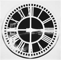 clock tower, brooklyn, xix: june 3 by vera lutter