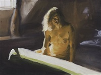 untitled (april) by eric fischl