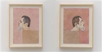 duas cabeças (autorretrato) by efrain almeida