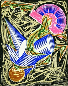 frank stella illustrations after el lissitzkys had gadya the unique colour variants by frank stella