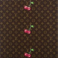 monogram cherry by takashi murakami