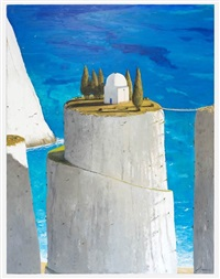 the warlock's lair by julio larraz