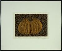 pumpkin (y) by yayoi kusama