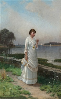the engagement ring by alfred thompson bricher