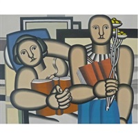 the reading by fernand léger