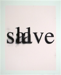 slave salve by christopher wool