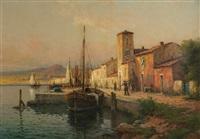 petit port du midi by antoine bouvard