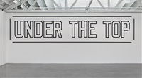 under the top by lawrence weiner