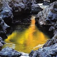 golden river pool, oregon by christopher burkett