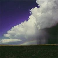 high desert thunderstorm, utah by christopher burkett
