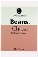 beans chips by damien hirst