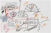 59 homers by jean-michel basquiat