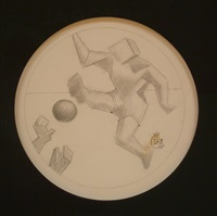 "futbol – ""les sports"" series by salvador dalí"