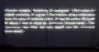 the solution of the riddle (z&n) by joseph kosuth