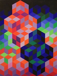 duo-2 by victor vasarely