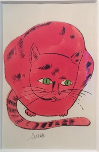 25 cats named sam and one blue pussy by andy warhol