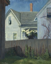 house across the fence by john french sloan