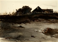 wet sand by andrew wyeth