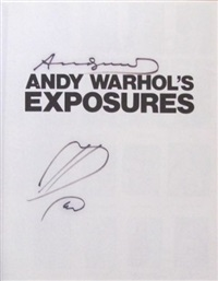 exposures book - grosset & dunlap, new york by andy warhol