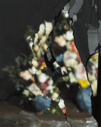 on reflection, material: after j. brueghel the elder e06 by ori gersht