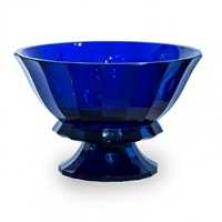 tischaufsatz / centerpiece blue by josef hoffmann