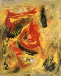 black, red, gold by beauford delaney