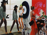 art fair: booth #1 play/care by eric fischl