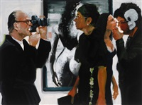 art fair: booth #60 shoot/please (study) by eric fischl