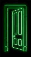 green door by gavin turk