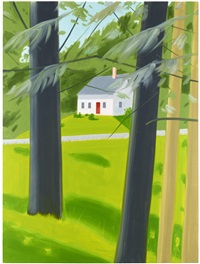 red door by alex katz