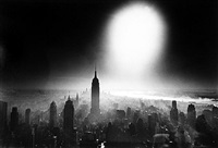 atom bomb sky, new york by william klein