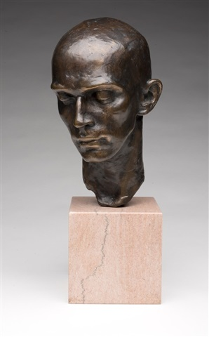 head of a dancer (harald kreutzberg) by richmond barthe