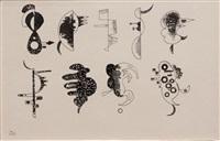 ziechnung zu (chacun pour soi) by wassily kandinsky