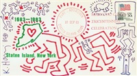 untitled (staten island) by keith haring